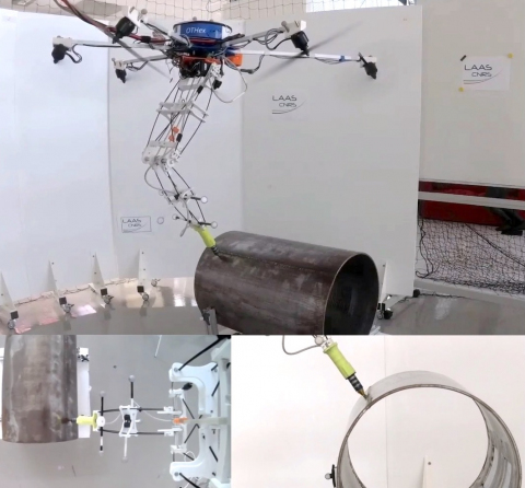 A Truly Redundant Aerial Manipulator System with Application to Push